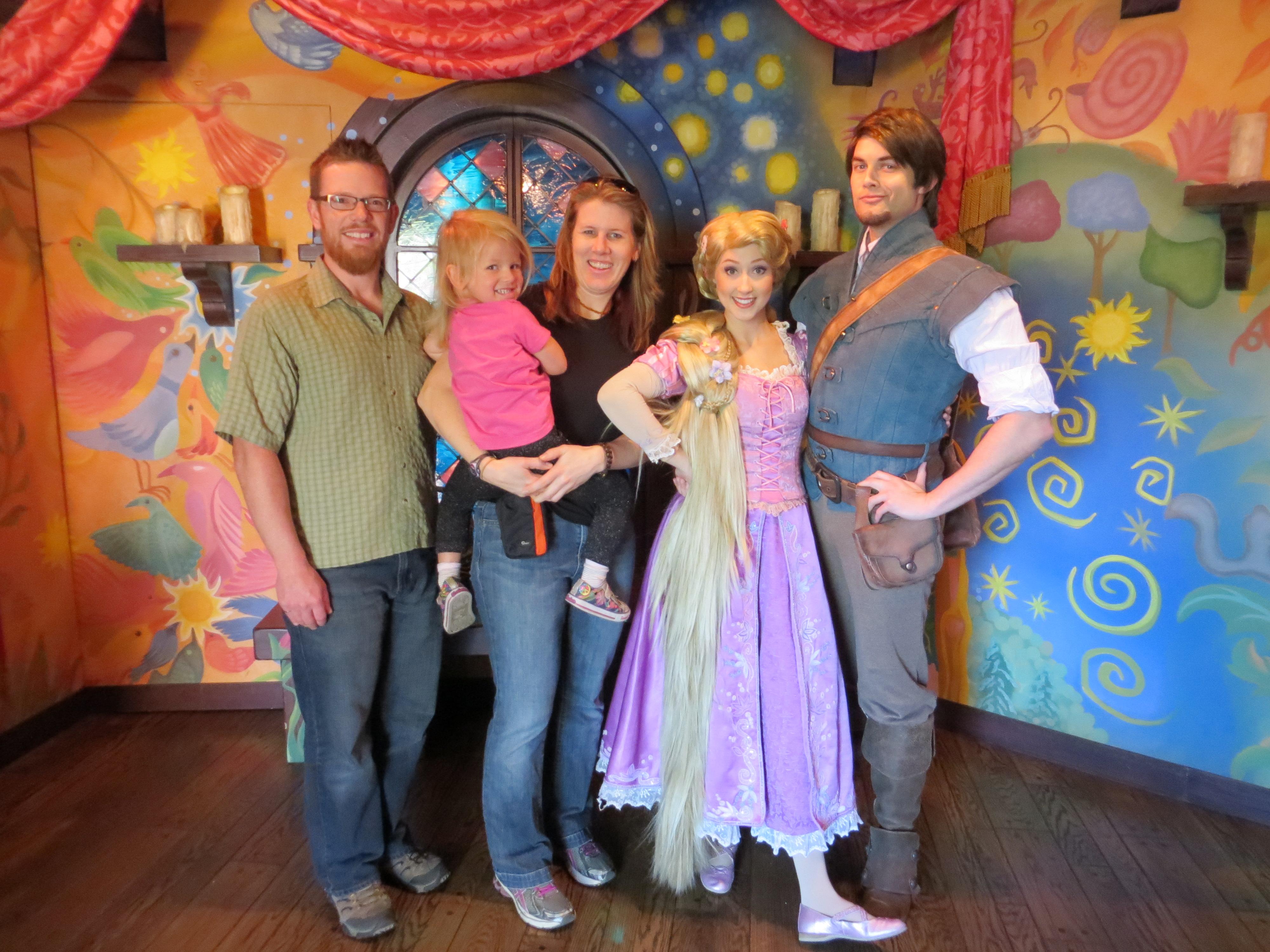 Flynn Rider Disney World 2013 Rapunzel and flynn riderFlynn Rider Disney World 2013