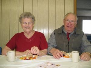 Grandma & Grandpa - April 2004
