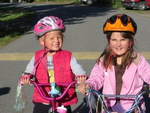 Lots of fun on the bikes!
