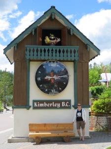 Cuckoo clock in the Plazl